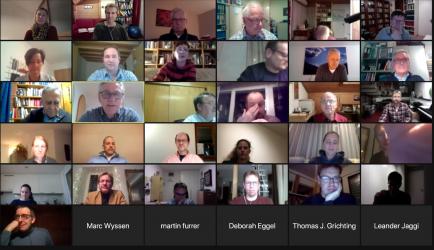 43 Rotarier/innen nehmen am online Meeting teil - ein neuer Rekord