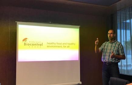 Daniel Zingg, CEO von Biocpontrol